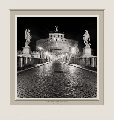 Site of Public Executions by Beheading, Hanging & Quartering 16th - 19th century (Ponte Sant'Angelo, Rome)