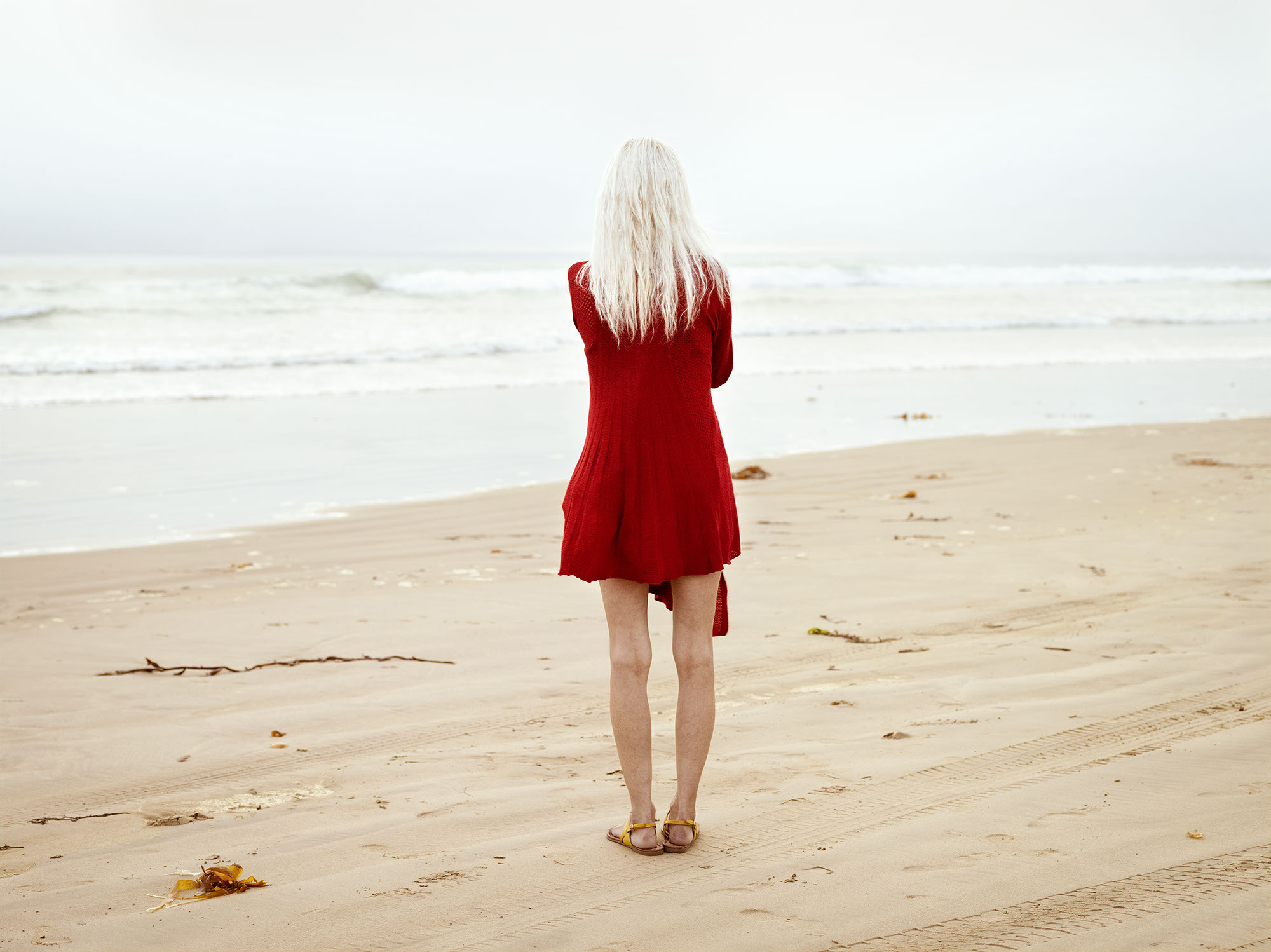 Girl with the Red Sweater