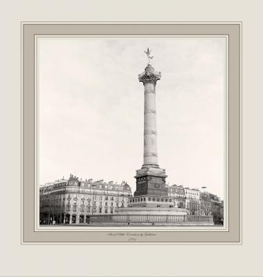Site of Public Executions by Guillotine 1794 (Place de Bastille, Paris)