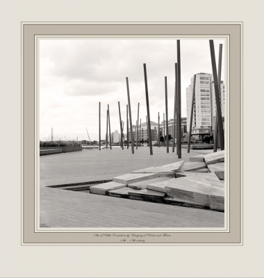 Site of Public Executions by Hanging of Pirates and Thieves 18th - 19th century (Grand Canal Square, Dublin)
