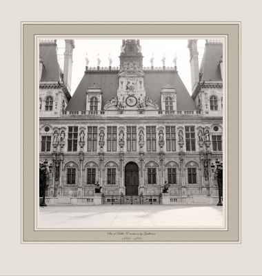 Site of Public Executions by Guillotine 1792-1793 (Hôtel de Ville, Paris)